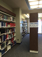 Picture of the Education library reference collection.