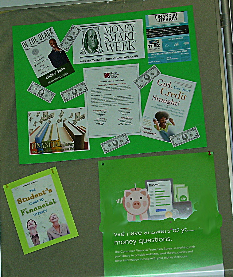 April 2015 - On Display at Clarkston - GSU Library Research