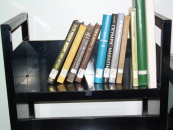 Display books on a cart