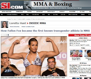 Sports Illustrated's mixed martial arts pages