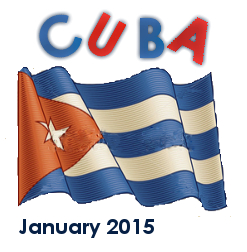 Flag of Cuba used as display logo