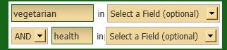 Advanced search for ebooks