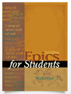 Epics for Students Cover