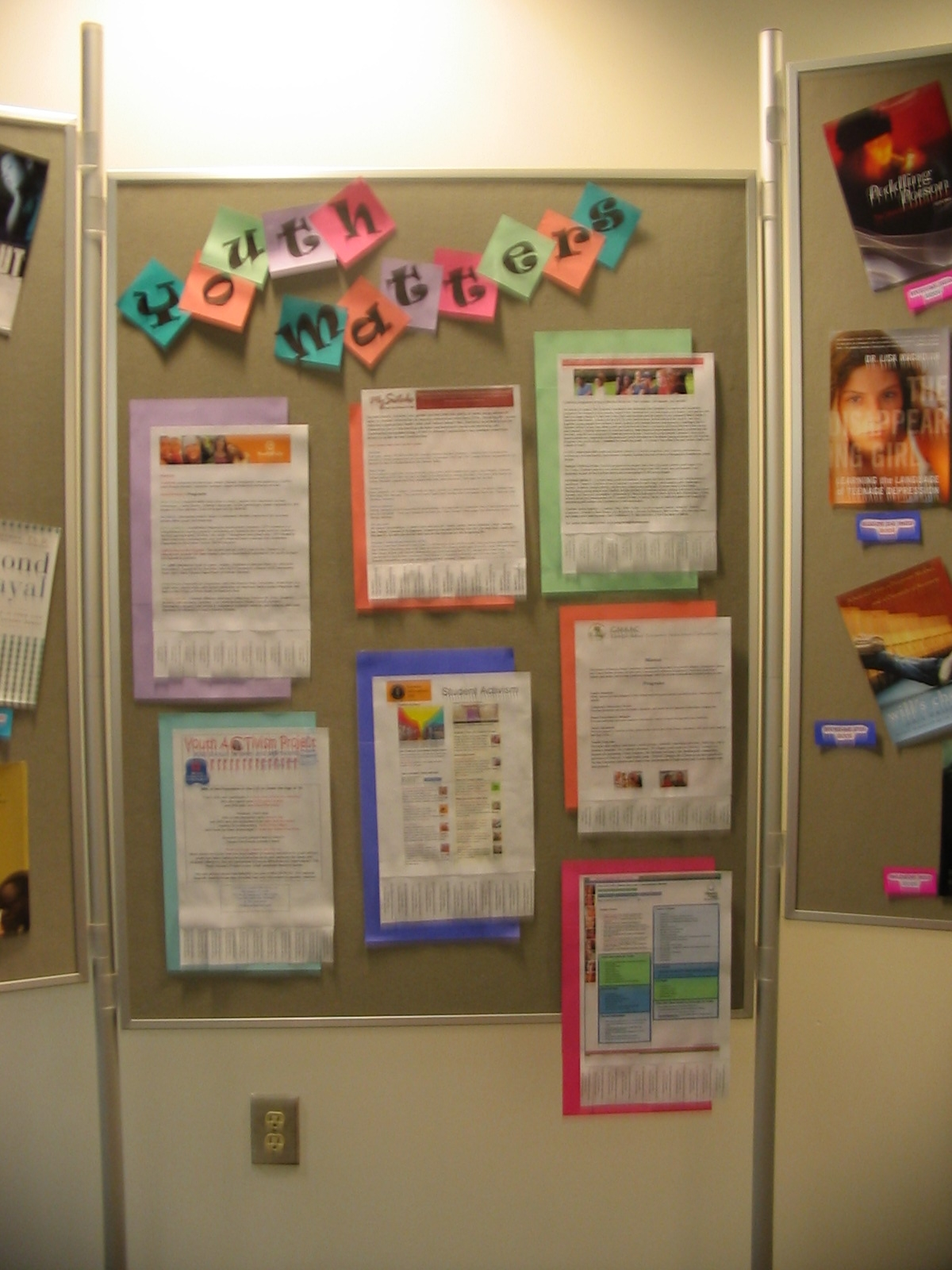 A look at our display of web sites
