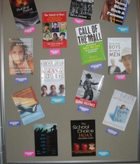 Part of the actual Youth Matters display