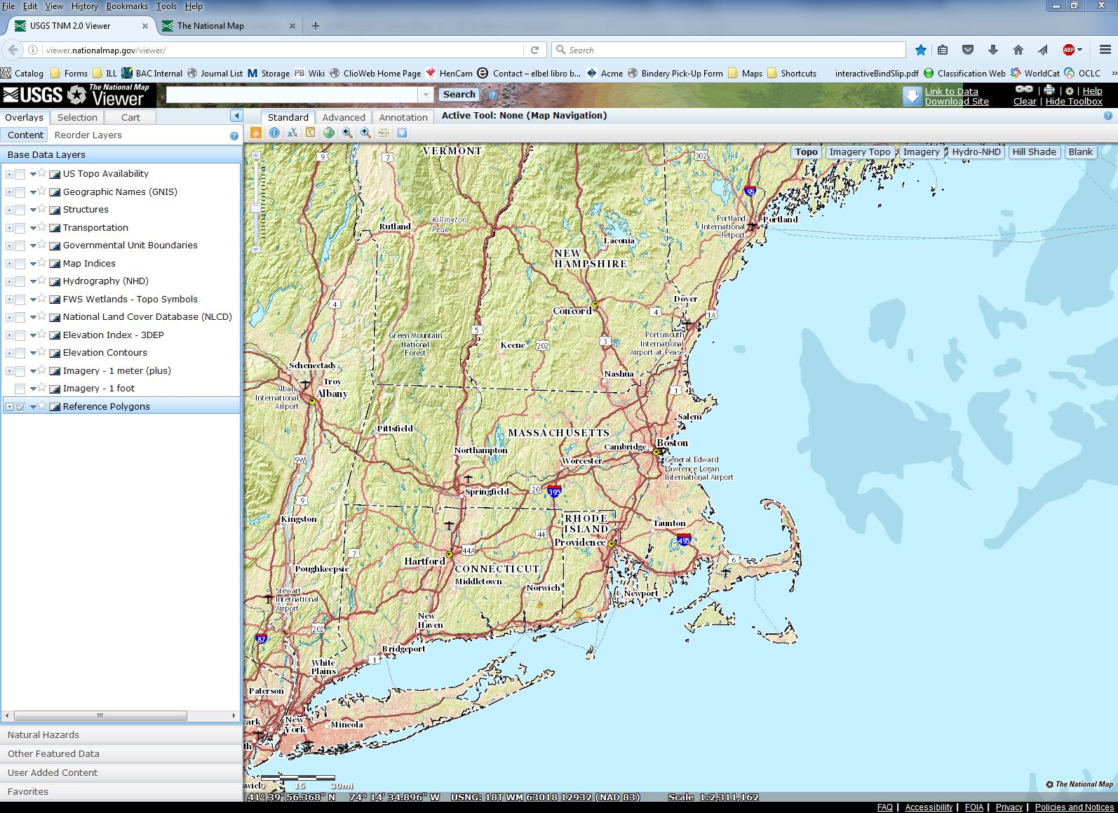 USGS National Map Viewer - Online Maps - Research Guides at Boston ...