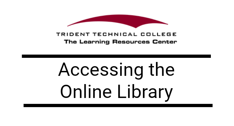 Accessing the Online Library