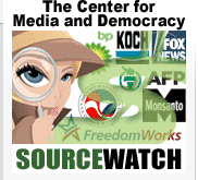 Center for Media and Democracy Source Watch Logo