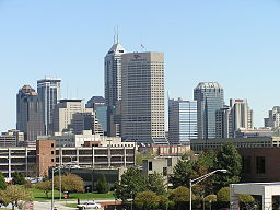 Indy downtown skyline