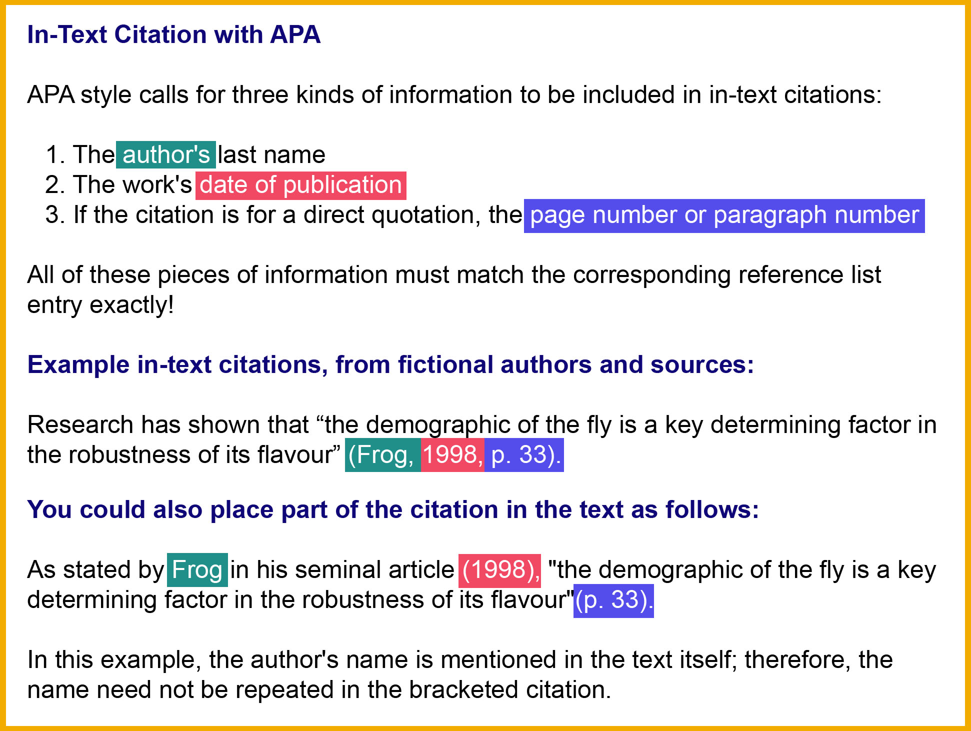 apa 6th edition citation style guide libguides at dalhousie