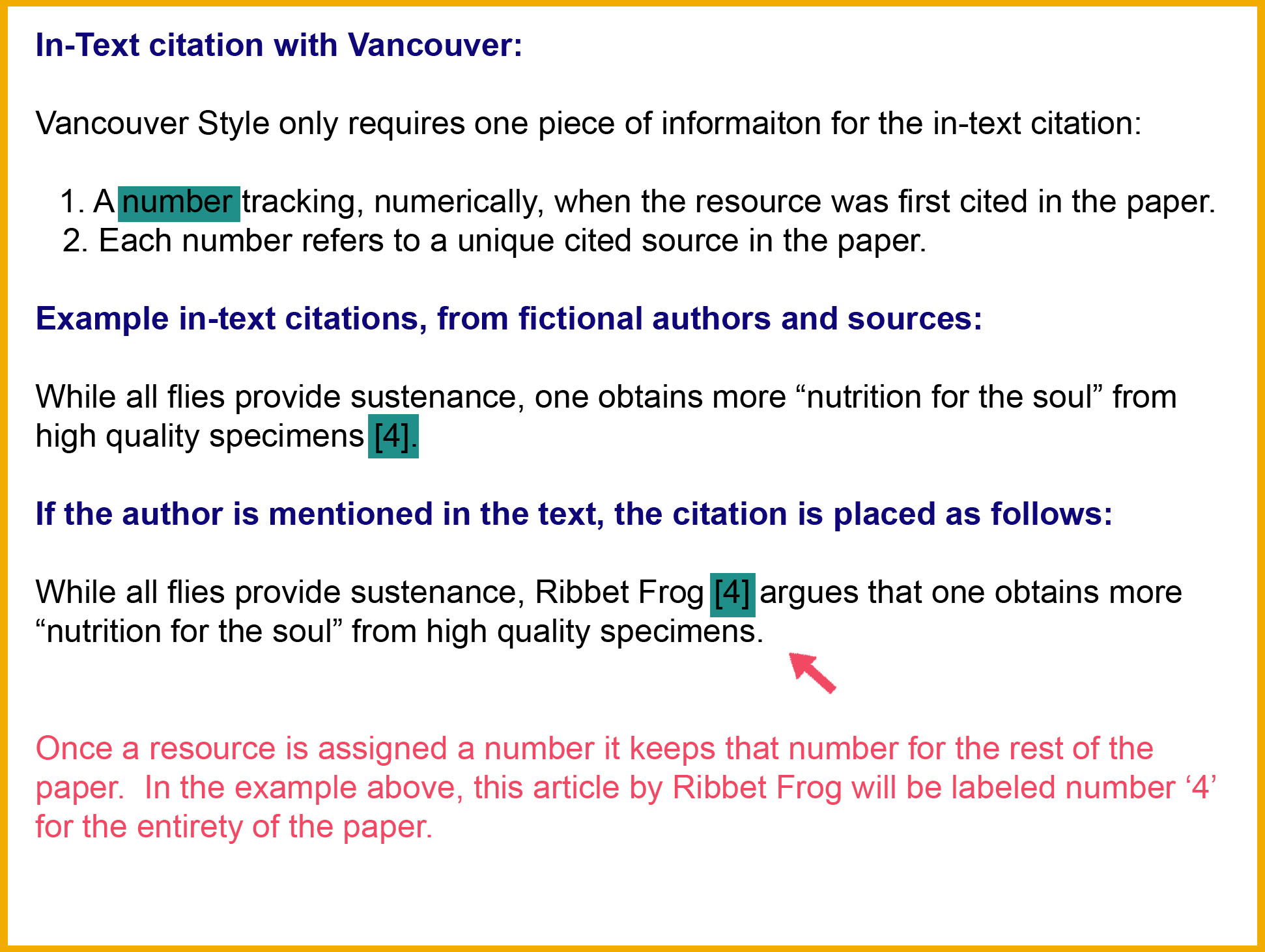 Vancouver 2nd Edition Citation Style Guide Libguides