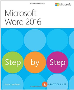 Microsoft Word 2016:Step by Step