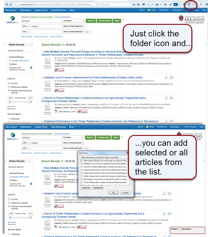 Adding Citations - Zotero - Research Guides at University of