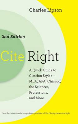 Cite Right Logo