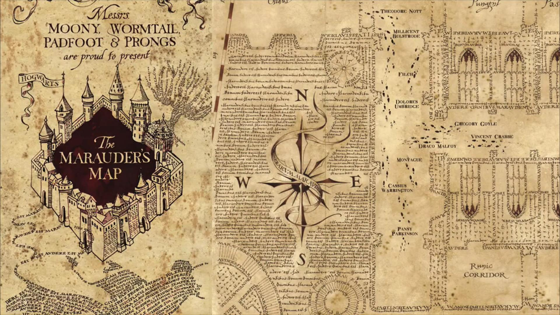 Marauder's Map open