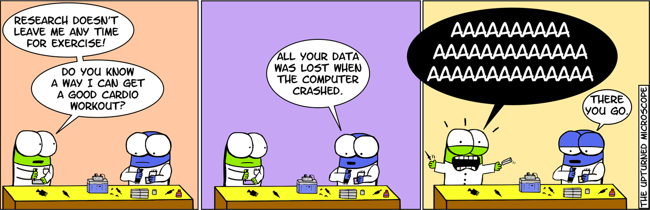 Research comic