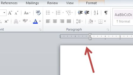 Changing the Indentation - Microsoft Word: Formatting Your
