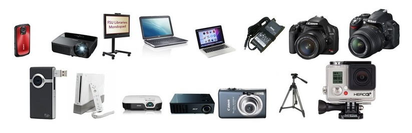 Assortment of technological devices