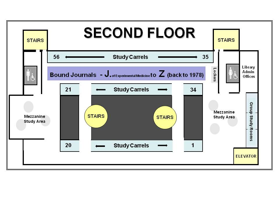 Library Floor Plan - Medical Student Resources - Research Guides at ...