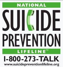 Link to the National Suicide Prevention Lifeline