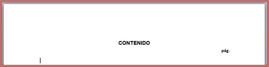 Tabla De Contenido Generalidades Cómo Usar Word Para