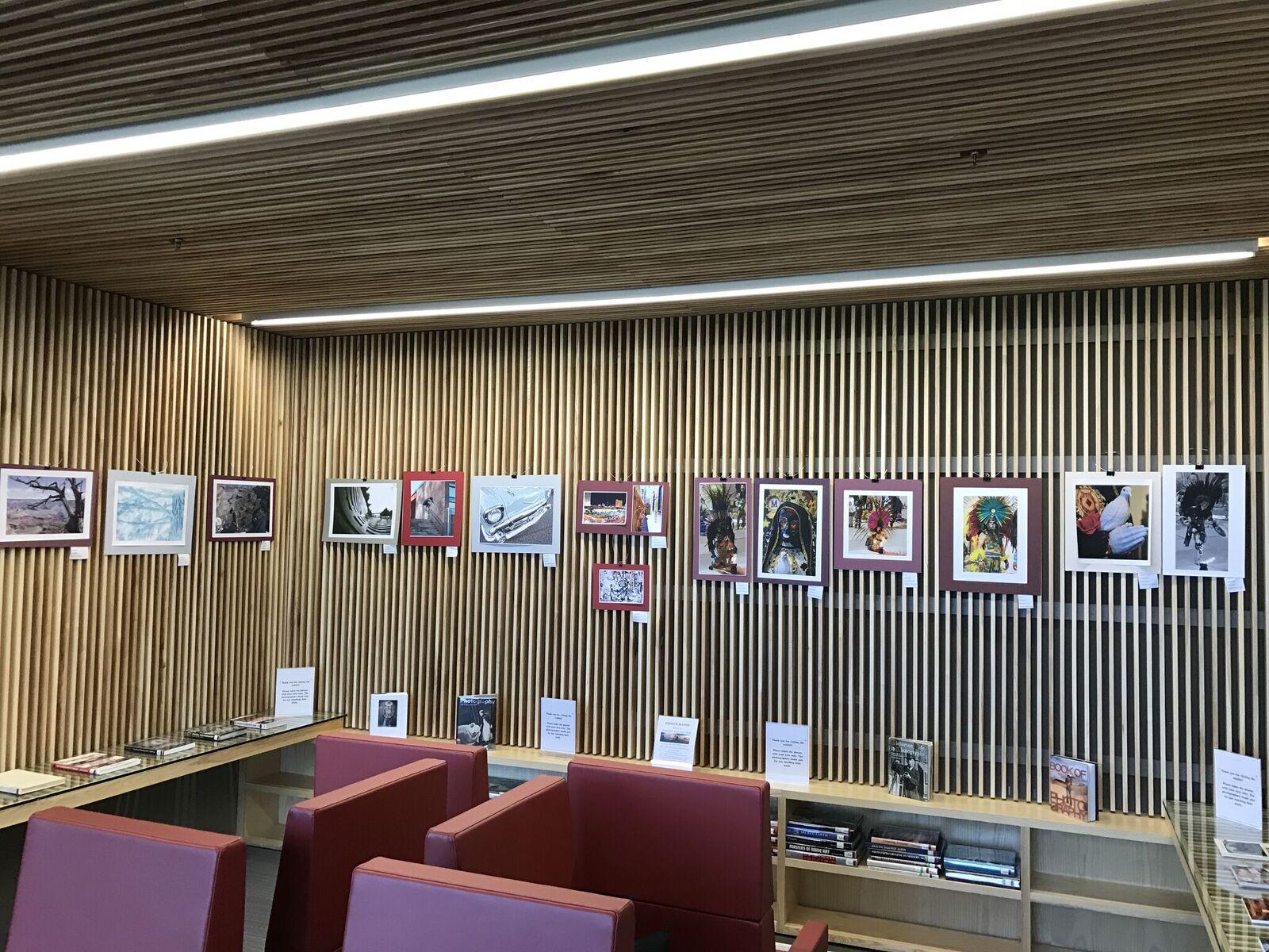 Student photography exhibit