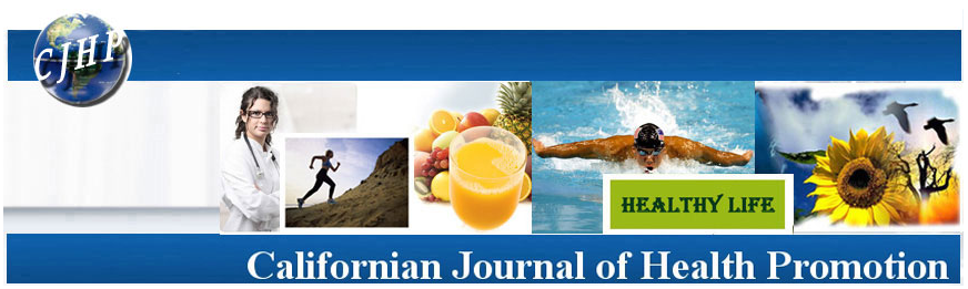 California Journal for Health Promotion Banner