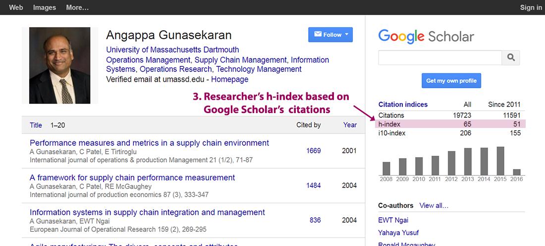 Tutorial google scholar evaluating scholarly publications screenshots taken spring 2016 stopboris Choice Image