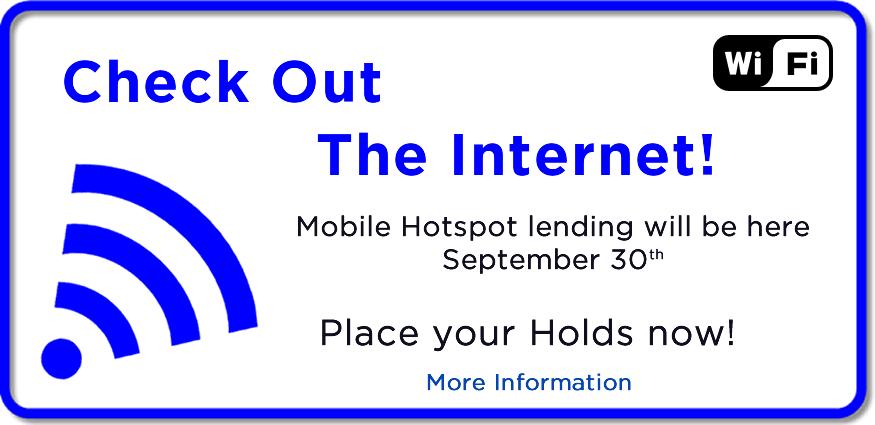 Library Mobile Hotspot