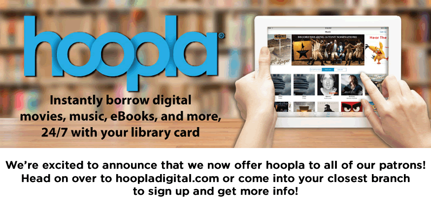 Announcing hoopla