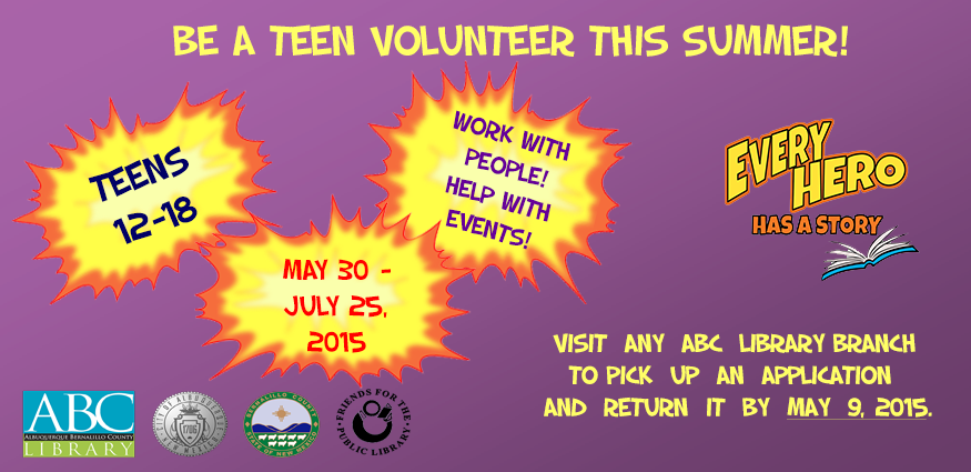 SRP Teen Volunteers
