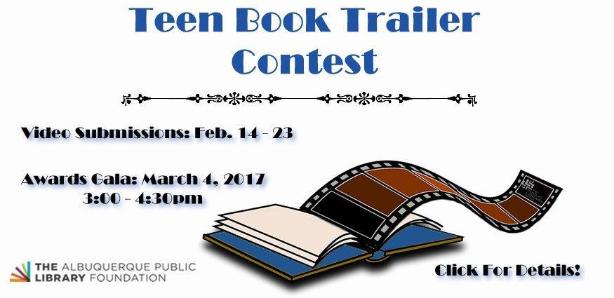 TeenBookTrailer Contest 2017