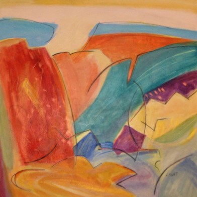 idea of landscape painting
