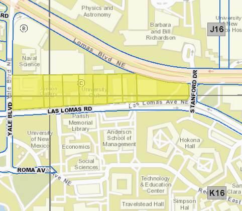 Campus Map Unm.Unm Campus Block C Additions And Subdivisions Libguides At The
