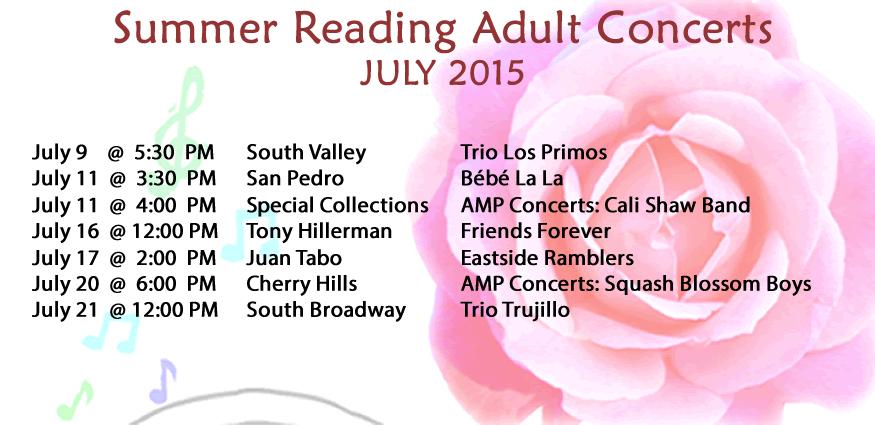 Adult Concerts