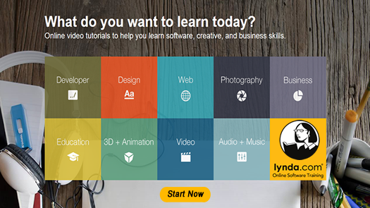 lynda.com online software training