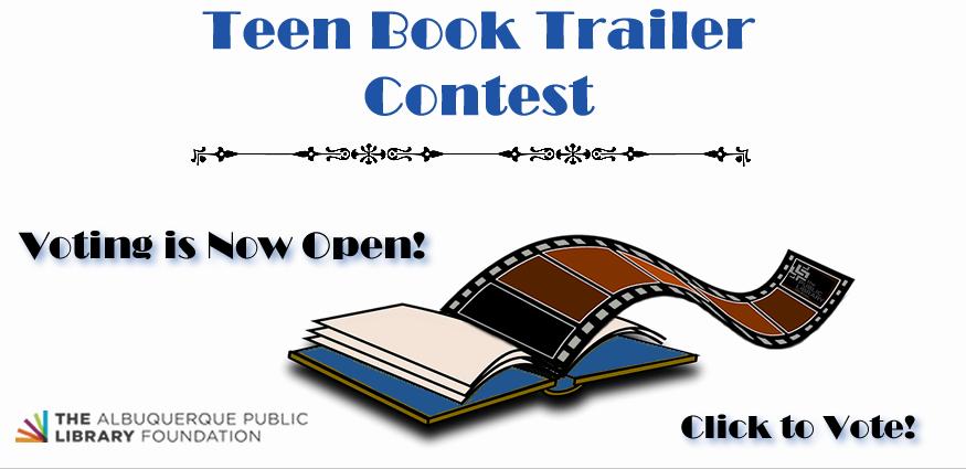 Teen Book Trailer Voting