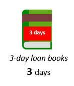 3-day loan books - 3 days