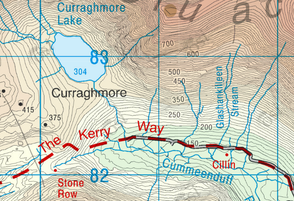 Ireland Elevation Map.Maps With Contours Gis At Ucd And On The Web Libguides At Ucd
