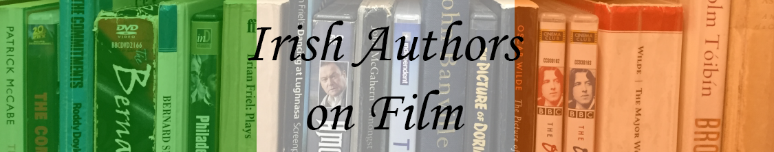 Irish authors on film banner