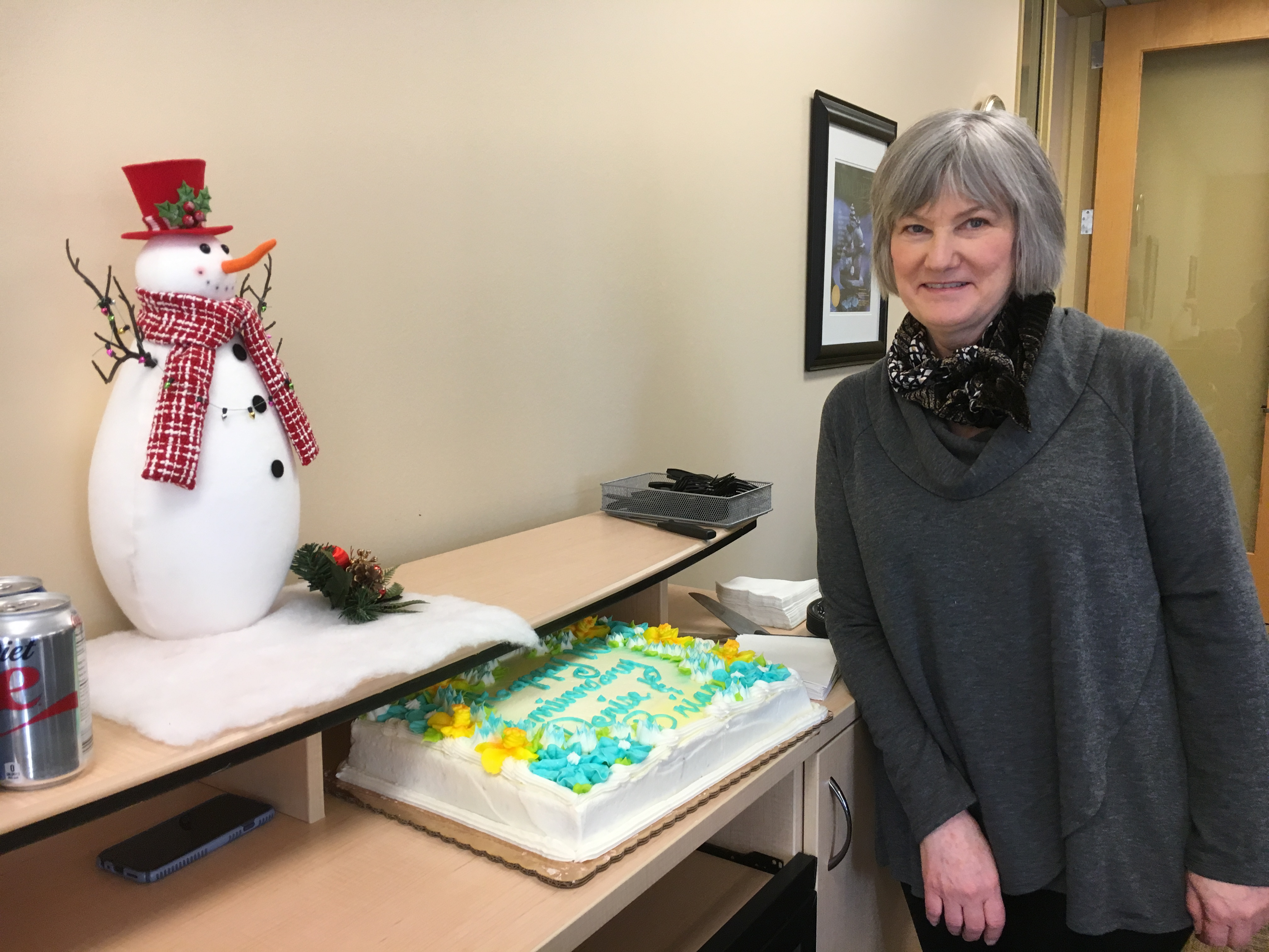 Senior Career Advisor Denise Pranke's 10-year Walden anniversary.
