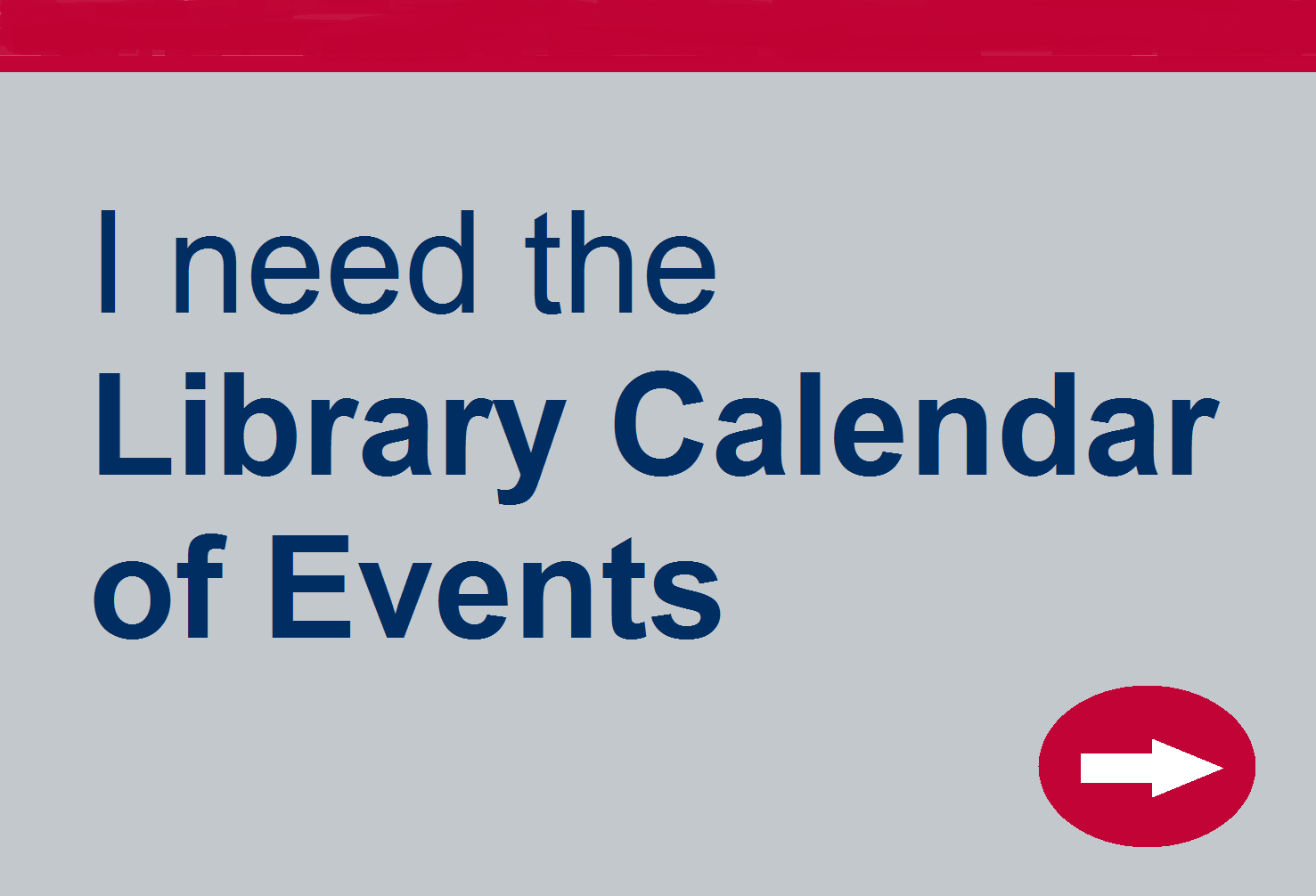 Need the Library Calendar of Events