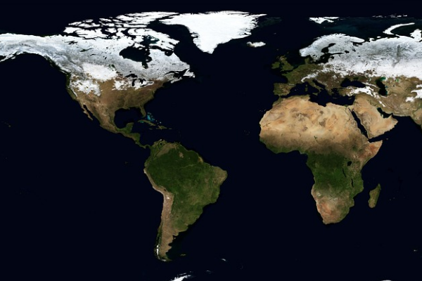 Photo of map of the world