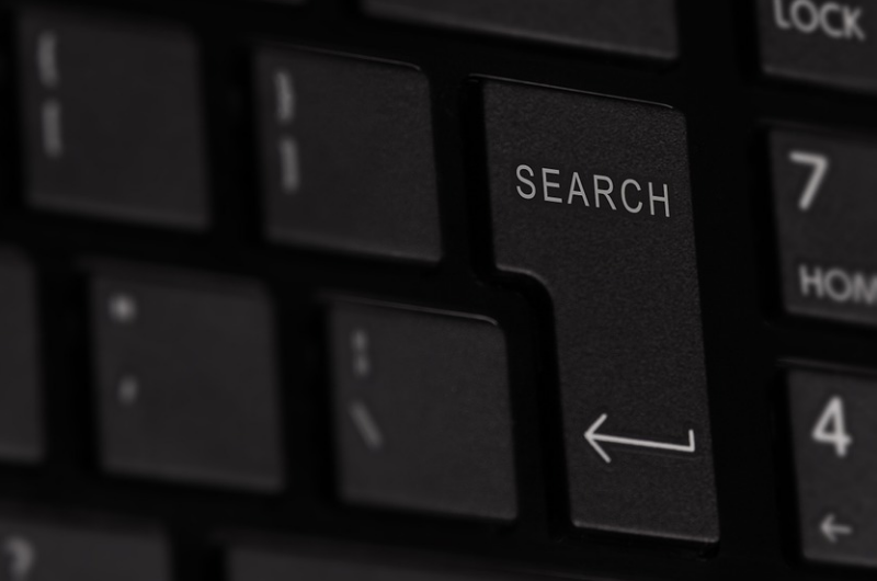 Image of a search button