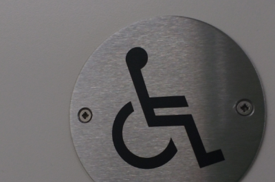 Image of disabled access sign