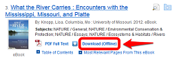 EBSCO download button