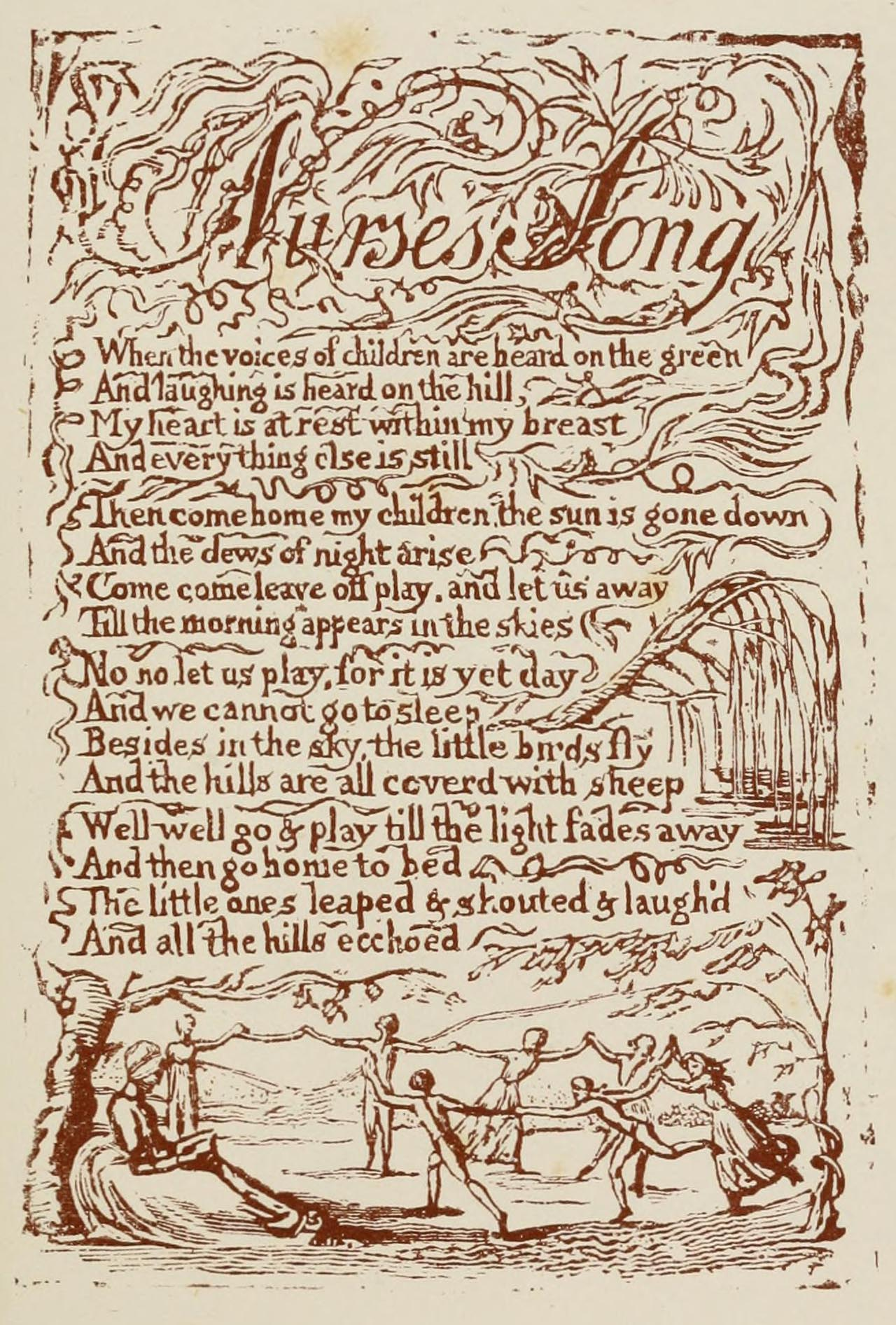 an examination of the poems the lamb from song of innocence and the tyger from song of experience by The lamb learning guide by phd students from stanford, harvard, berkeley  the poem summary analysis themes quotes study questions best  judging by his collection songs of innocence and experience, william blake was  for that matter, why read its counterpart, the tyger, blake's most famous poem.