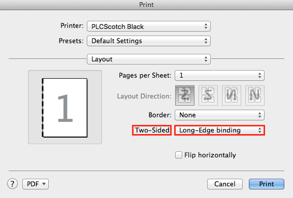 Can't do duplex printing! | Adobe Community