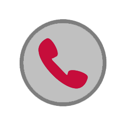 circular icon depicting a telephone
