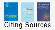 Citing Sources